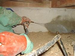 床下が土の場合の土壌処理