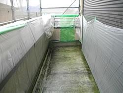 防水層作成工程
